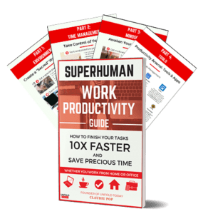 Unfold Today's free Superhuman Work Productivity Guide