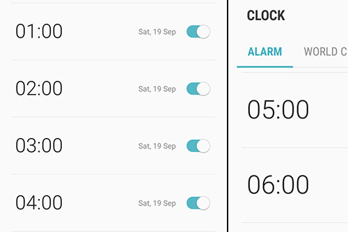 A night full of alarms technique, an answer to why some people can't remember their dreams