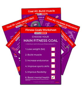 Fitness Goals Worksheet