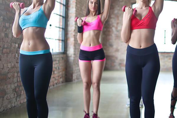 Fitness beginners following their smart fitness goals