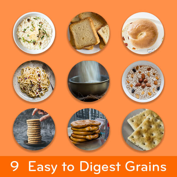 easy to digest foods: 9 grains easy on the stomach