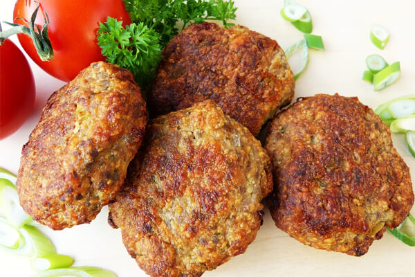 Easy to digest foods for your stomach: meatballs