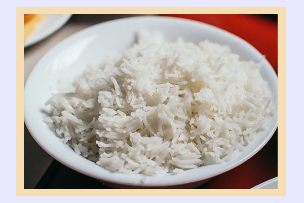 White rice - high-energy low-calorie foods for weight loss