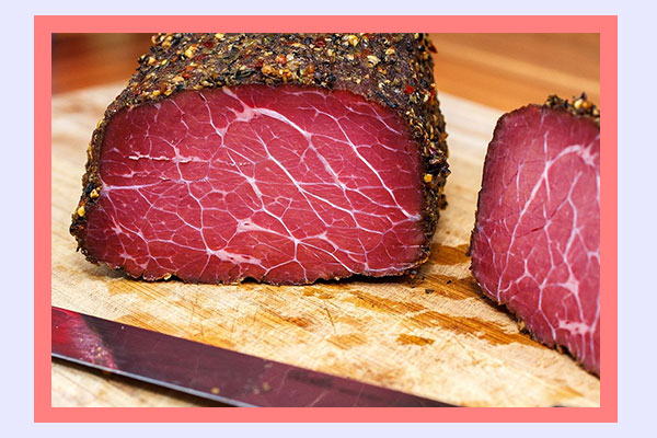 Pastrami - high-protein filling low-calorie foods for easy weight loss
