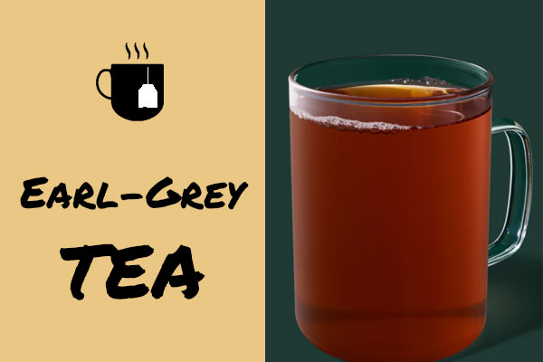 Healthiest Starbucks Drinks: Earl Grey Tea