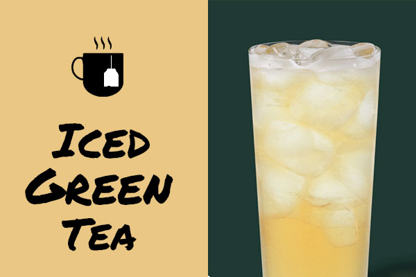Healthy sugar-free Starbucks drinks: Iced Green Tea
