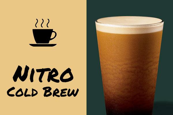 Healthy low-calorie Starbucks drinks: Nitro Cold Brew Coffee