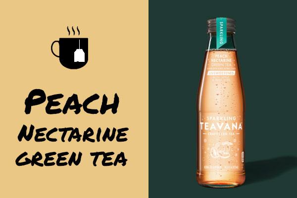 Teavana Peach Nectarine Green Tea