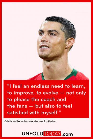 Cristiano Ronaldo Fitness Goals Motivation Quote