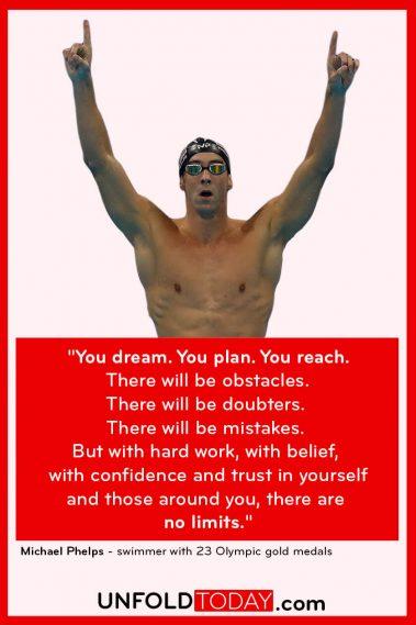 Michael Phelps Fitness Goals Motivation Quote
